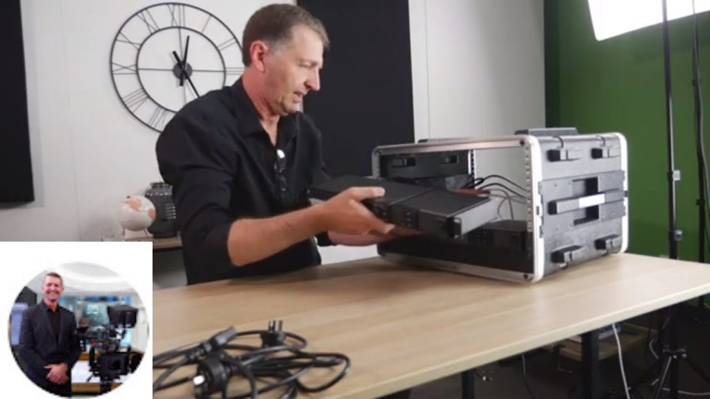 Blackmagic Design Atem Television Studio Hd Livestream Setup In New Flight Case 101 Media Group